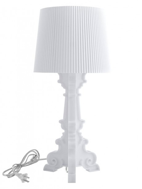White Acrylic Table Lamp 461x614