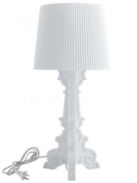 White Acrylic Table Lamp Medium 461x614