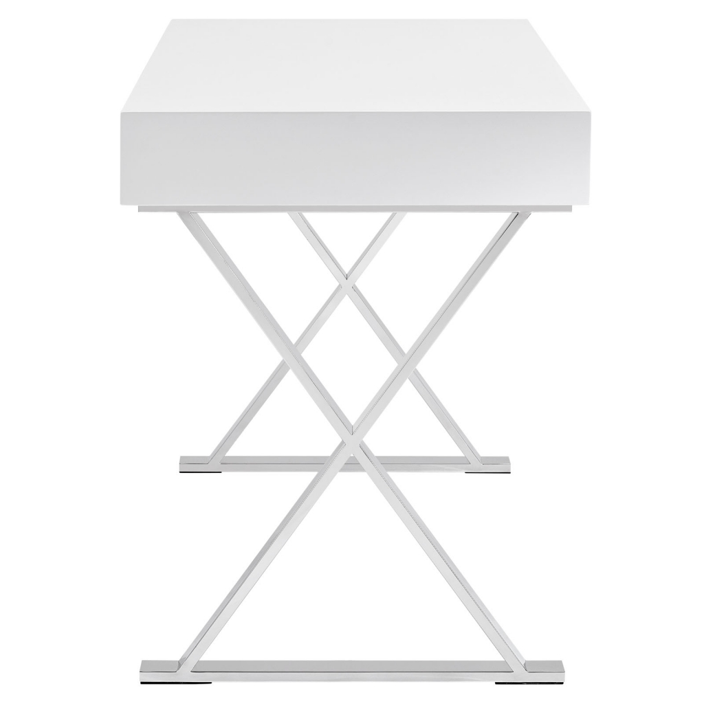 White Glam Desk 2