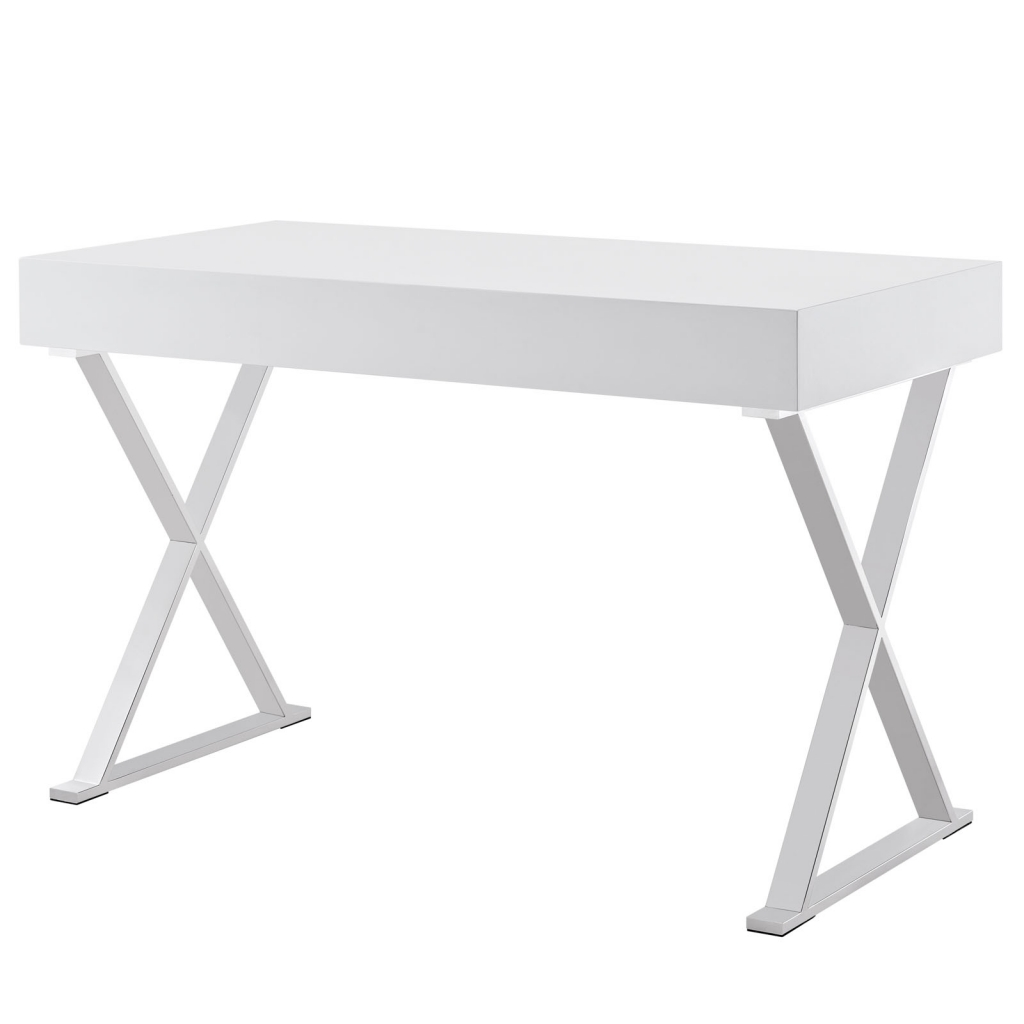 White Glam Desk 3