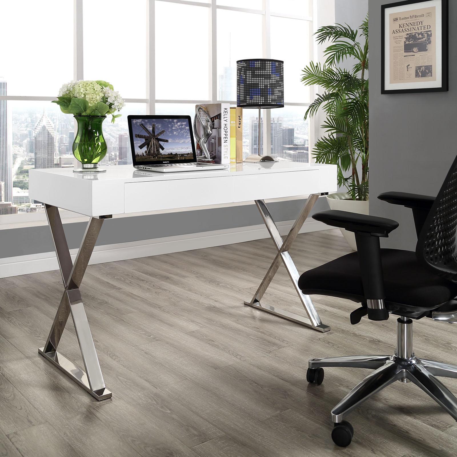 White Glam Desk 4