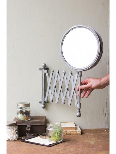 accordion Modern wall mirror 461x614