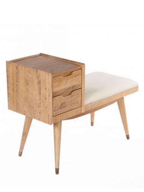 2 Drawer Bench 461x614