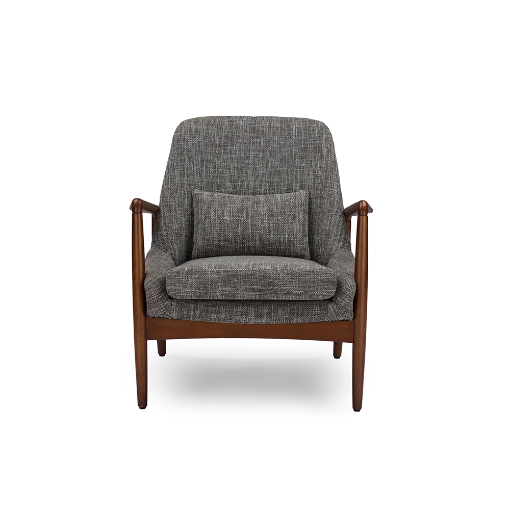 Conroy Gray Accent Armchair