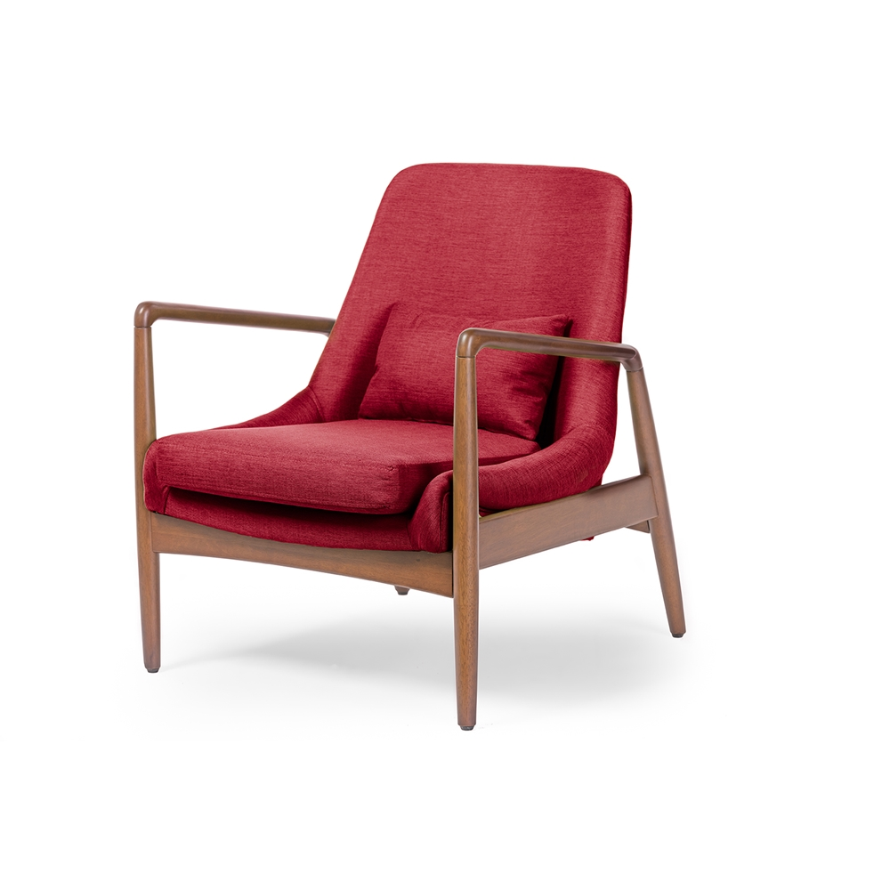 Conroy Red Accent Armchair 2