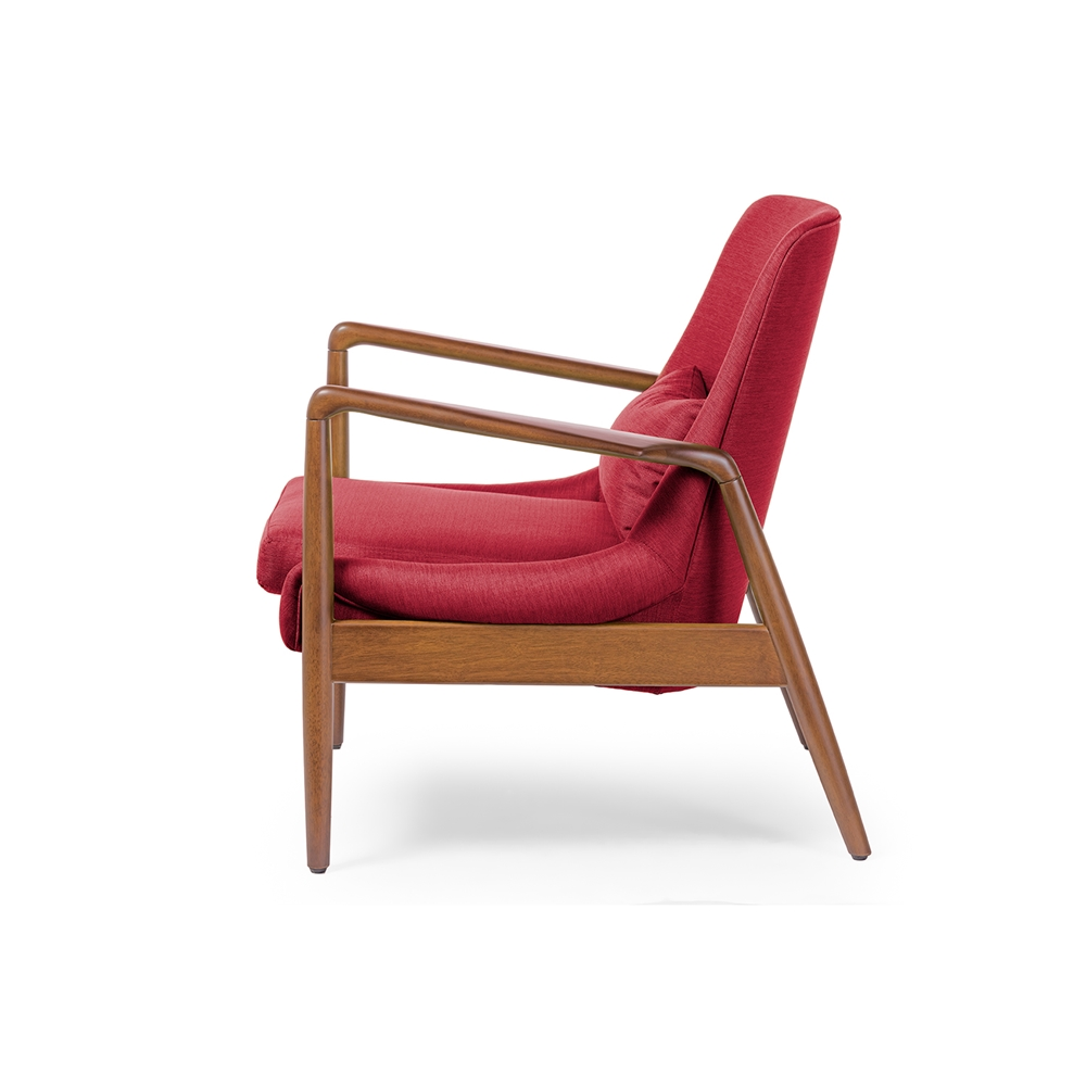 Conroy Red Accent Armchair 3