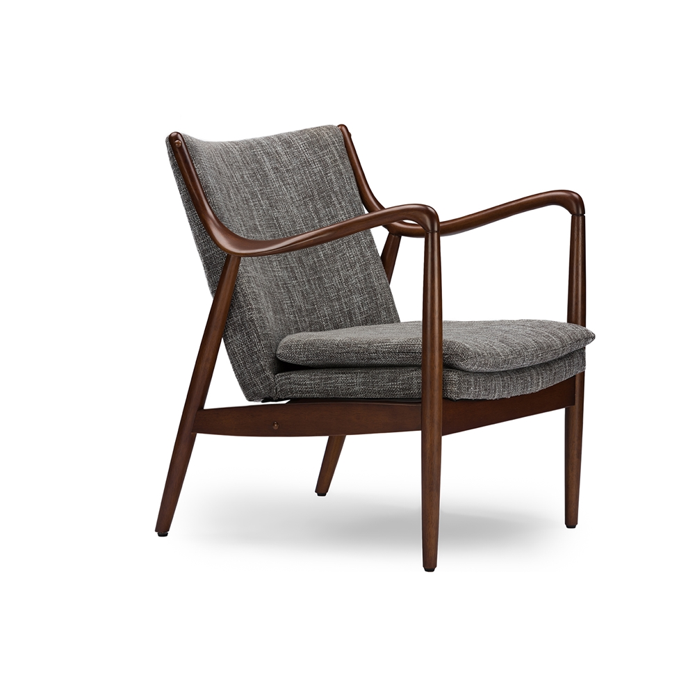 Finian Gray Accent Armchair 2