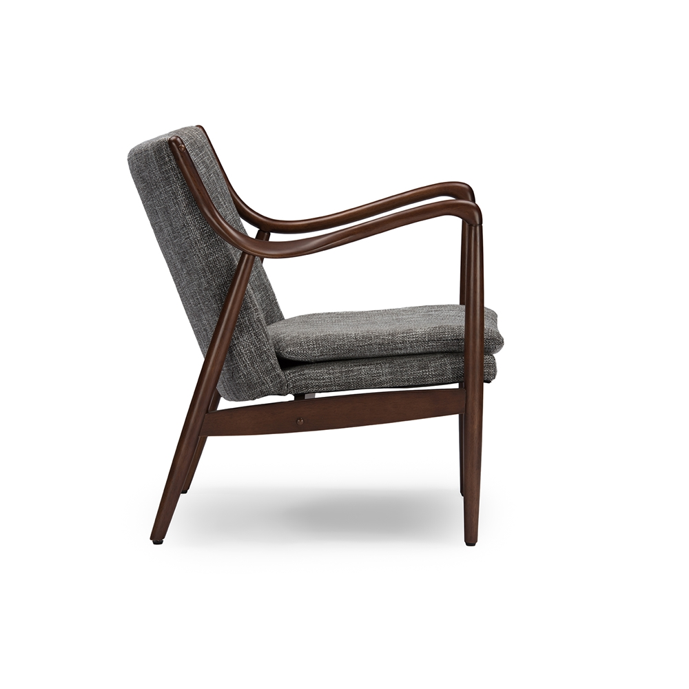 Finian Gray Accent Armchair 3