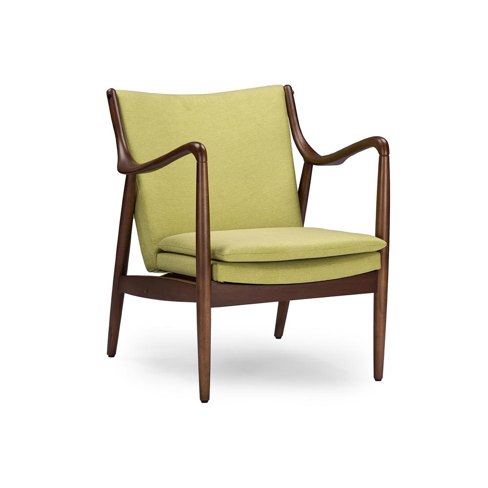 Finian Green Accent Armchair 2