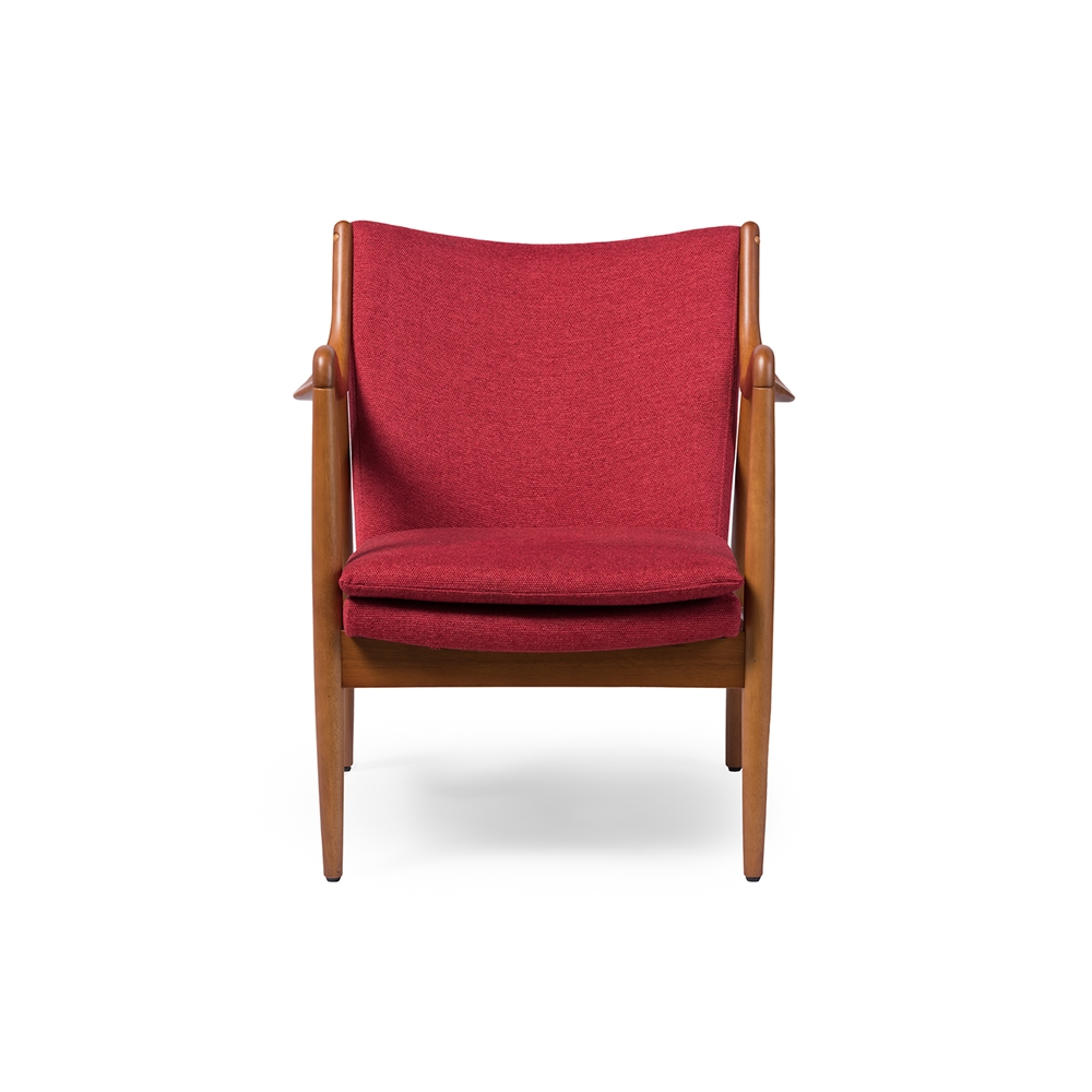 Finian Red Accent Armchair 3