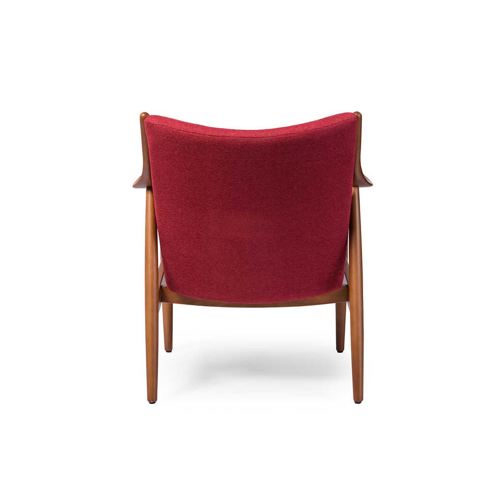 Finian Red Accent Armchair 6