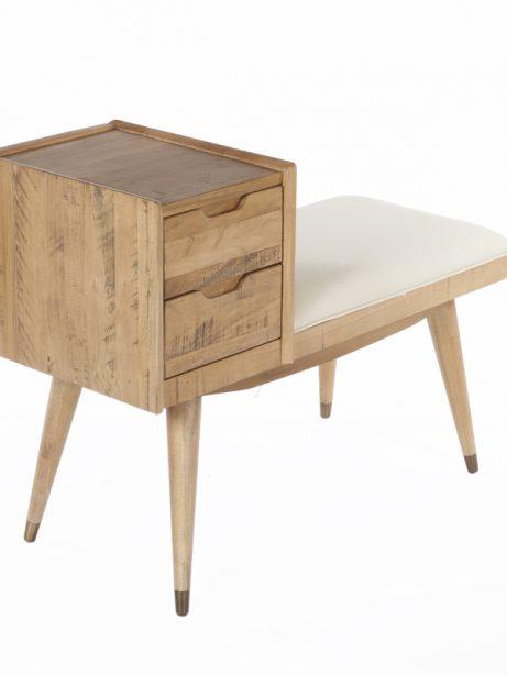 mid century drawer bench 461x614