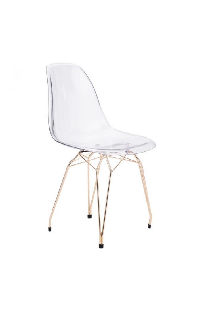 Ceremony Gold Wire Chair (2 Set) | Modern Furniture • Brickell ...