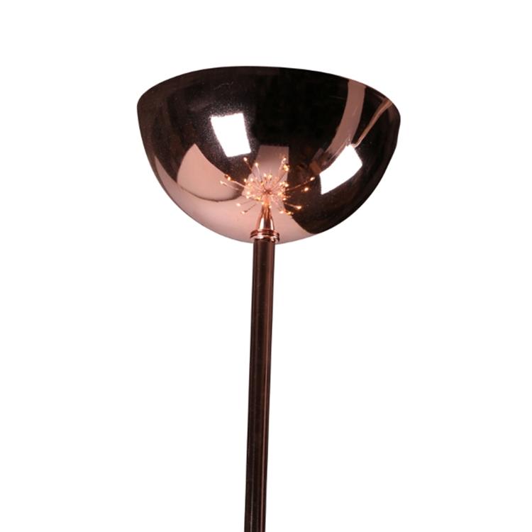 Sputnik Rose Gold Chandelier Modern Furniture Brickell