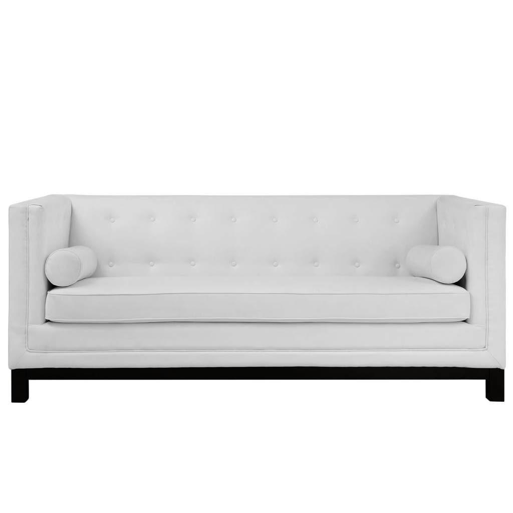 White Empire Sofa