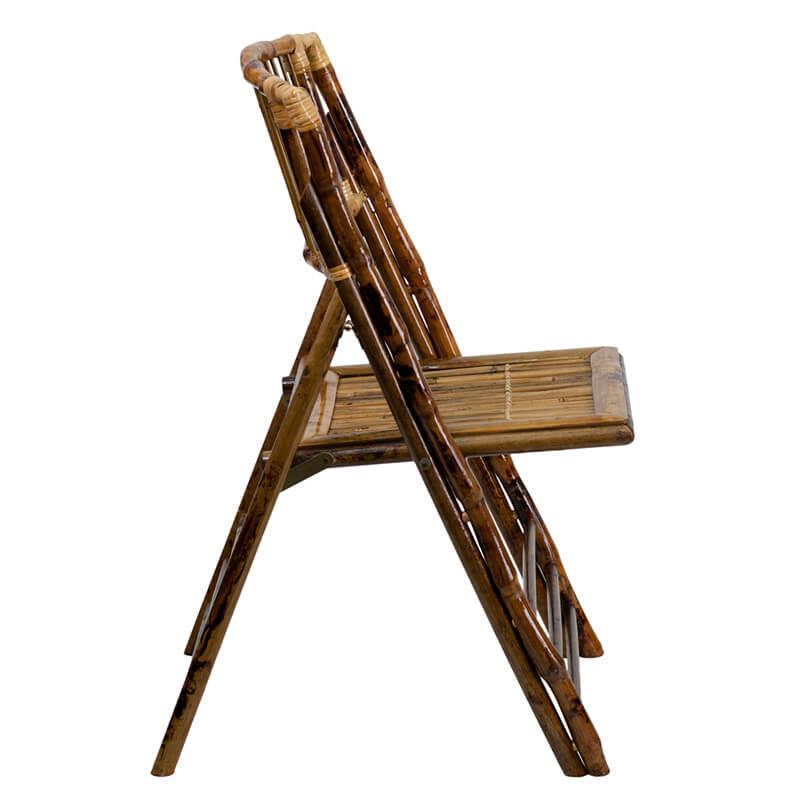 bamboo folding chair 2