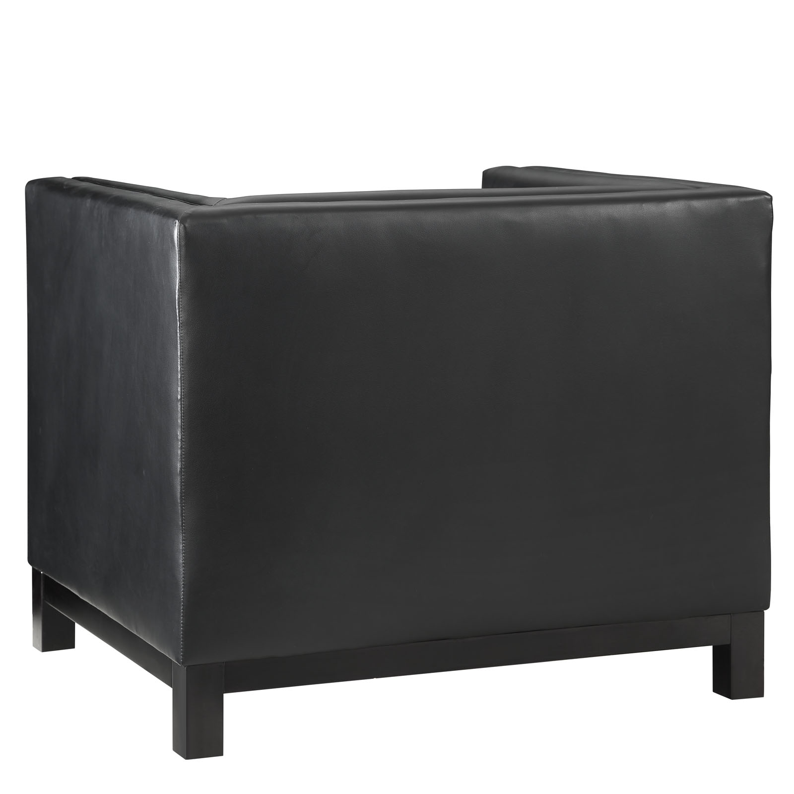 empire sofa armchair black 3