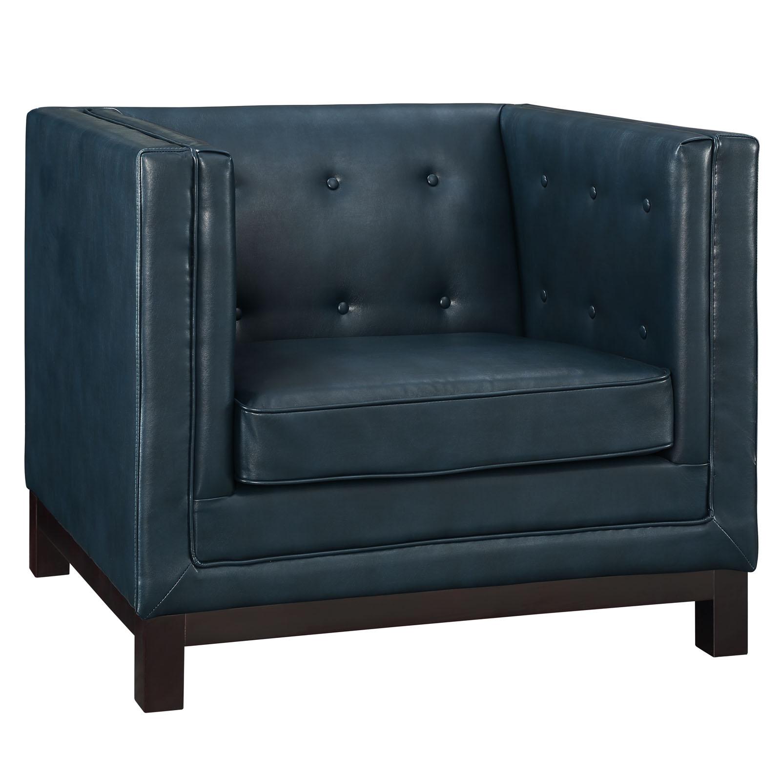 empire sofa armchair blue 2