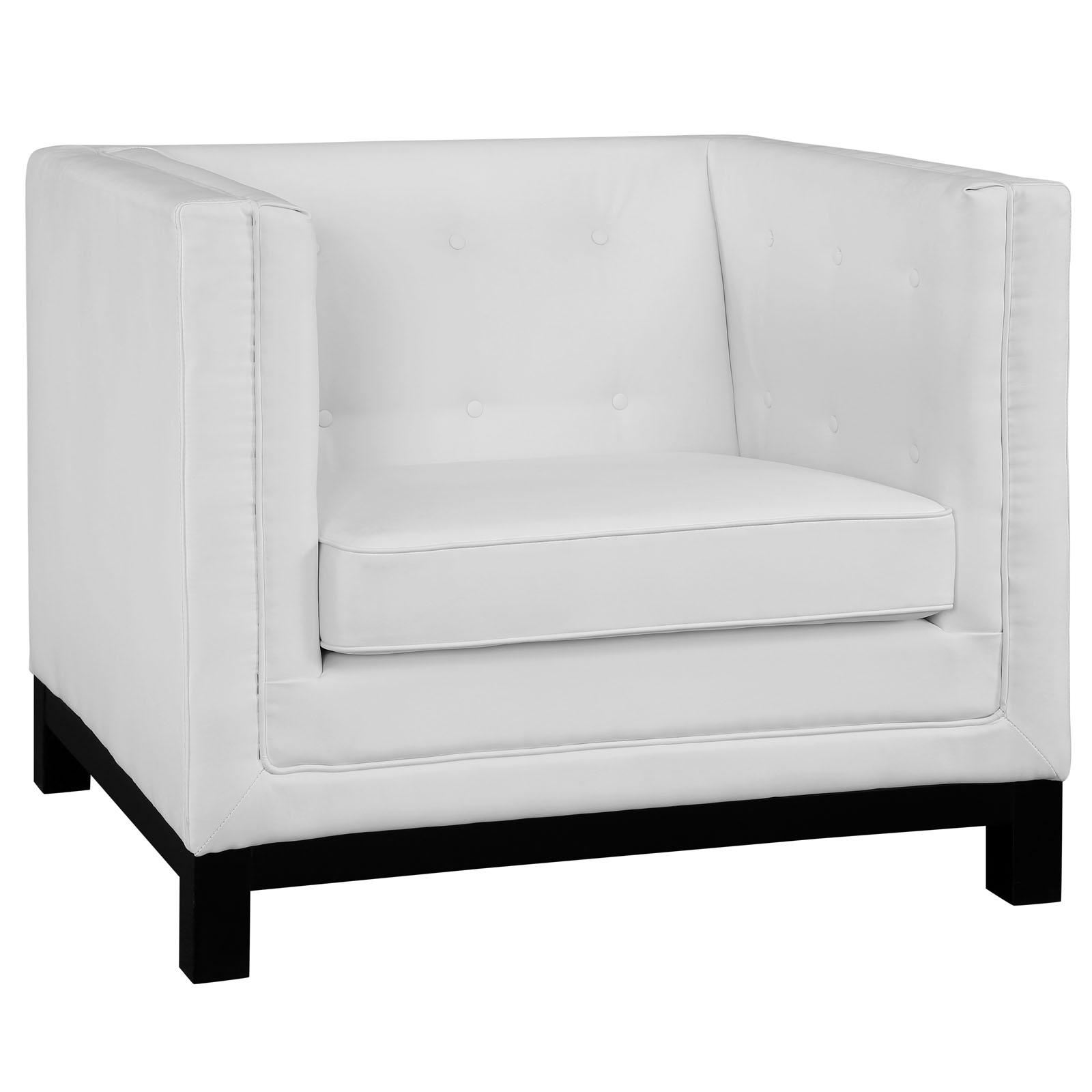 empire sofa armchair white 2