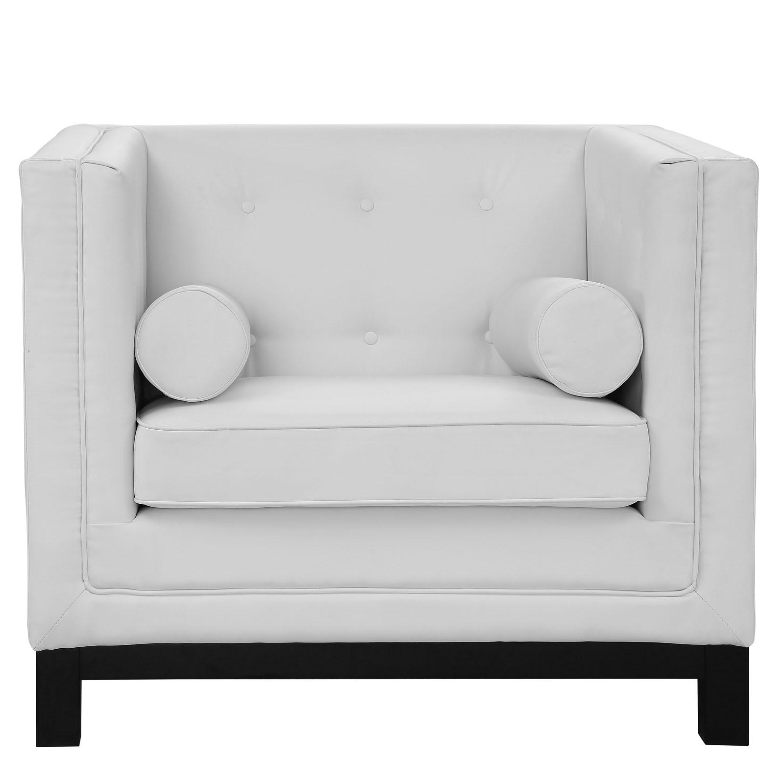 empire sofa armchair white 4