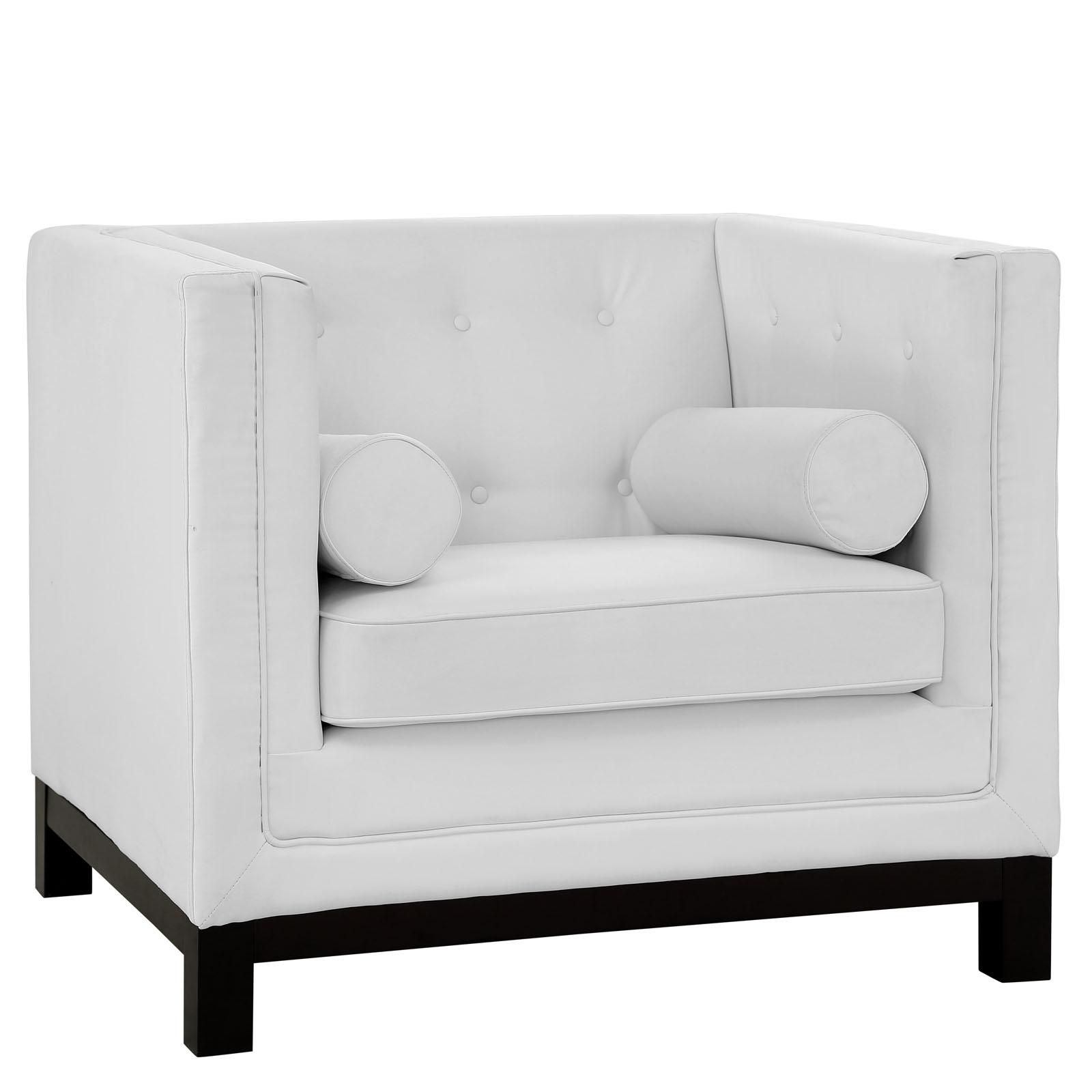 empire sofa armchair white 5