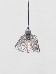 Wire Sculpture Pendant Light 237x315