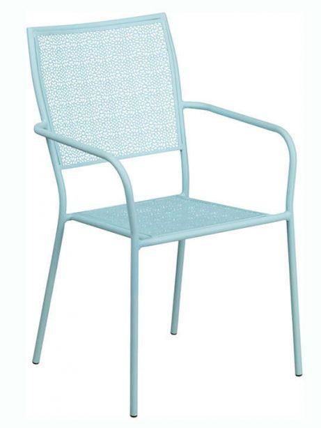 Metal brocade chair 461x614