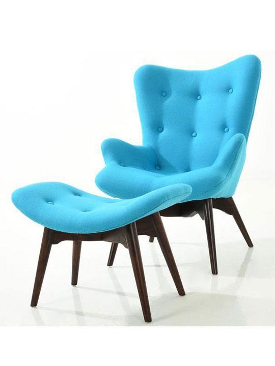 Retreat Lounge Chair and Ottoman Set