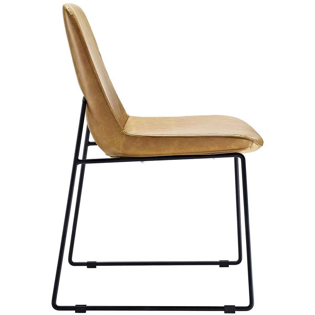 beacon tan side chair 2