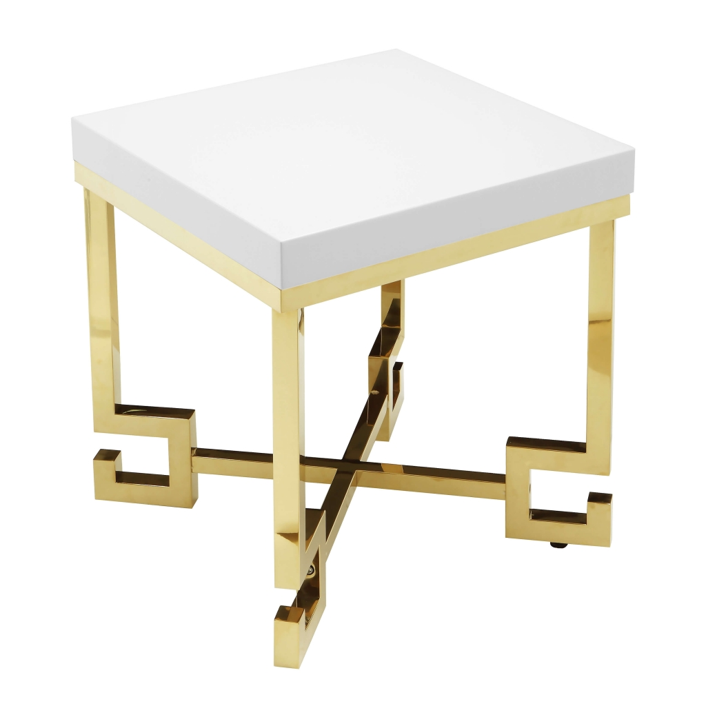 hollywood regency style side table