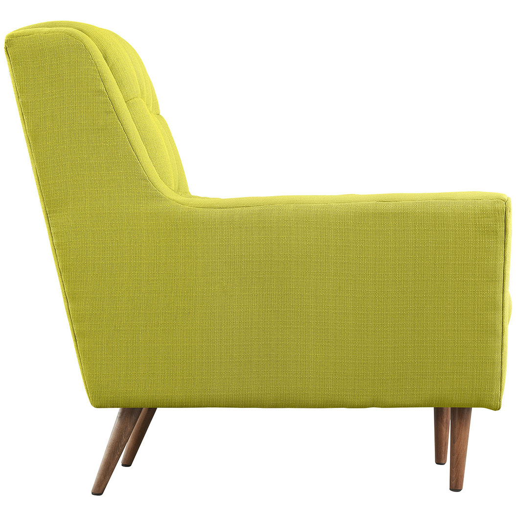 hued lime green armchair 2