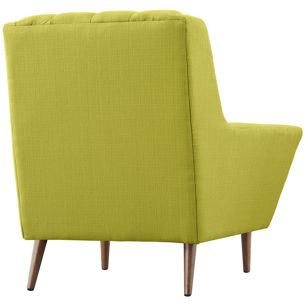 hued lime green armchair 3
