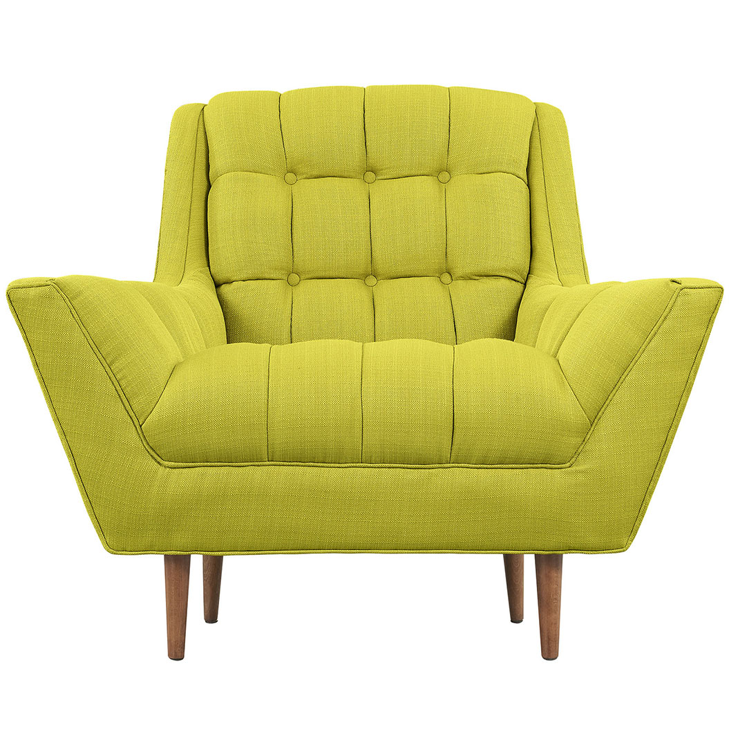 hued lime green armchair 4