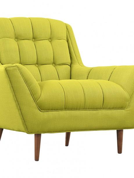 hued lime green armchair 461x614