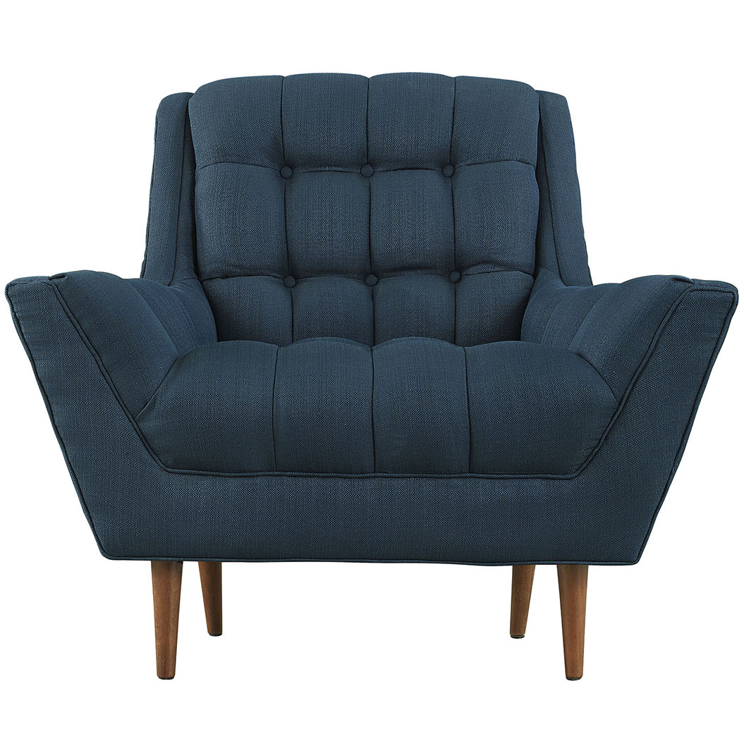 hued navy blue armchair 2