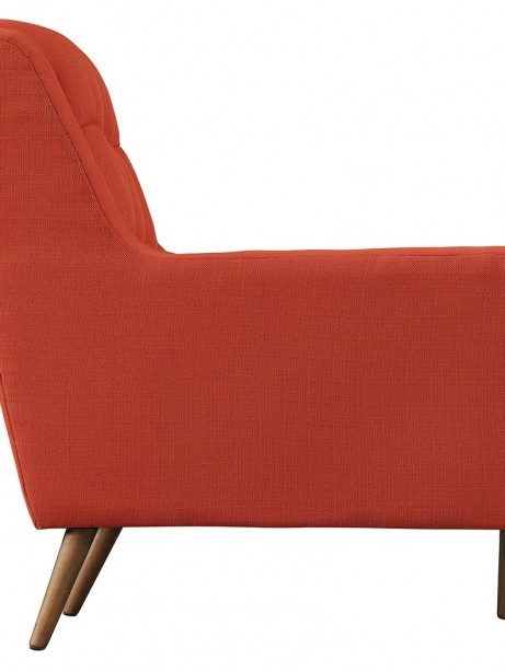 hued red orange armchair 2 461x614