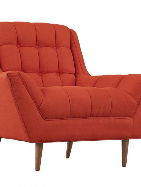 hued red orange armchair 461x614