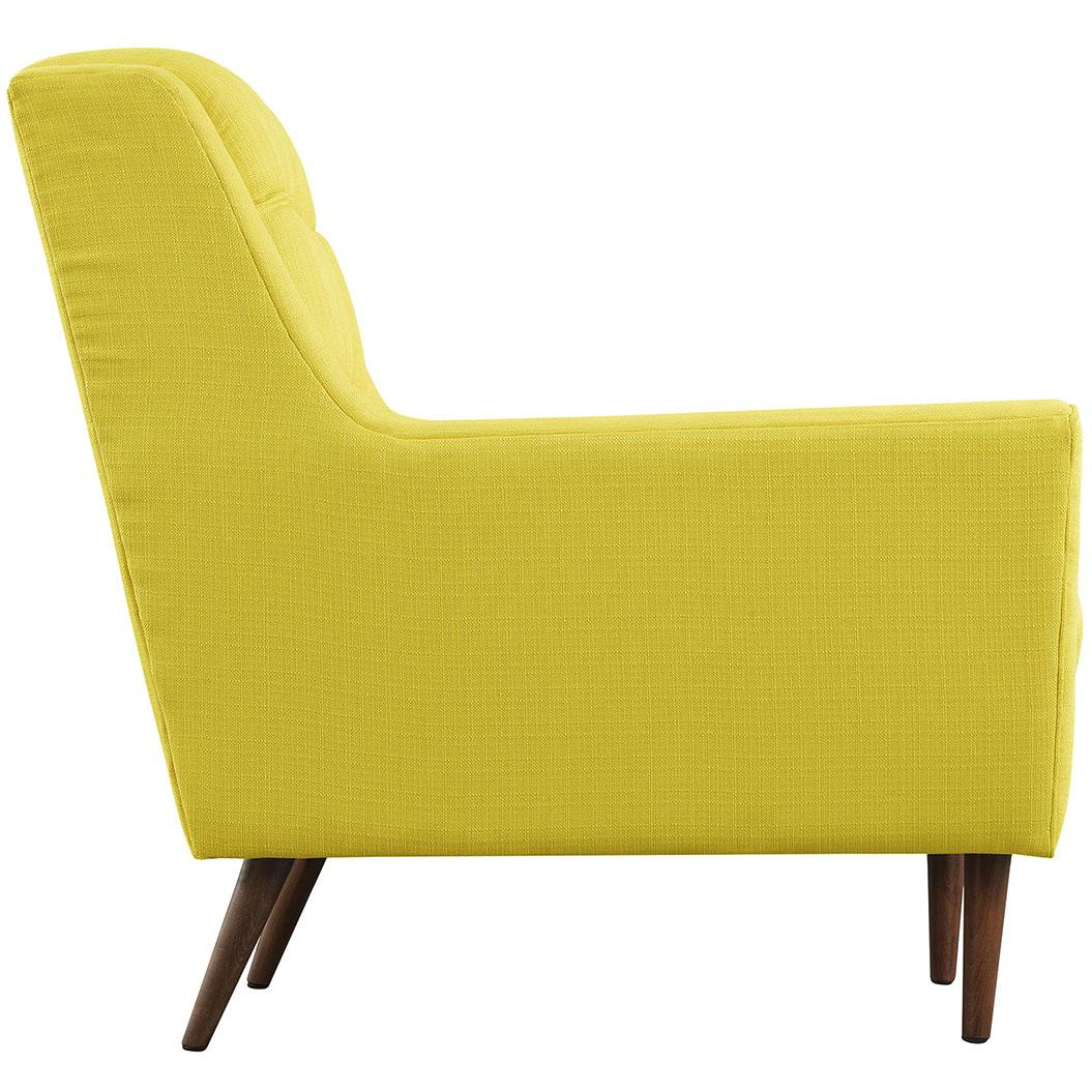 hued yellow armchair 2