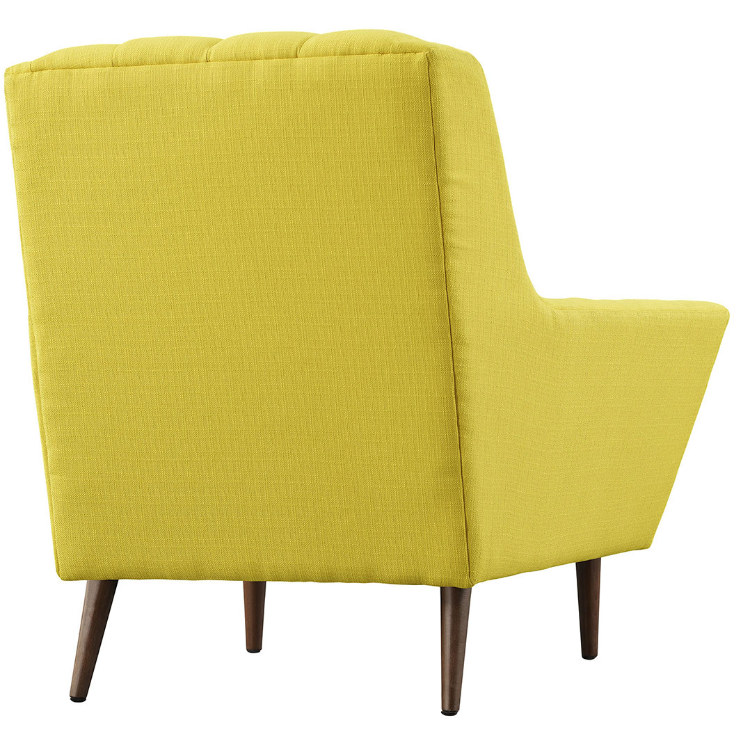 hued yellow armchair 3