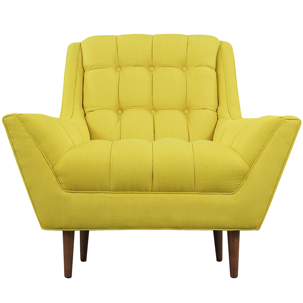 hued yellow armchair 4