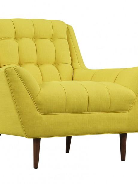 hued yellow armchair 461x614