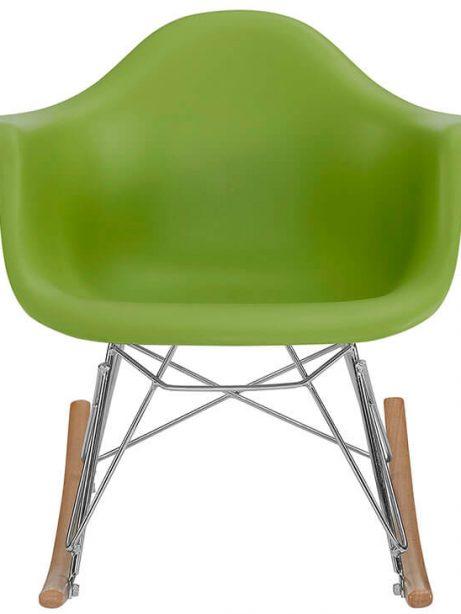 kids green rocking chair 461x614