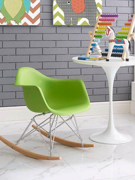 kids green rocking chair 5 461x614