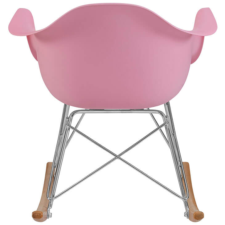 Kids Pink Rocking Chair 4