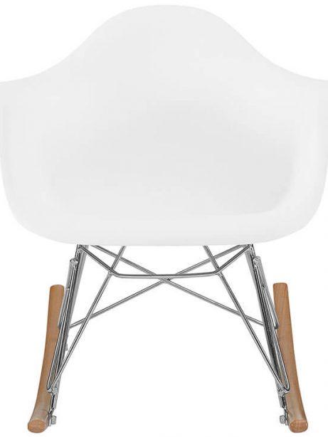 kids white rocking chair 461x614