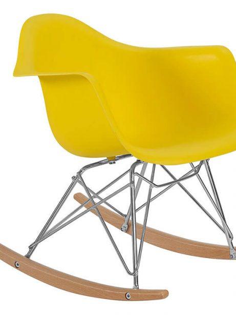 kids yellow rocking chair 2  461x614