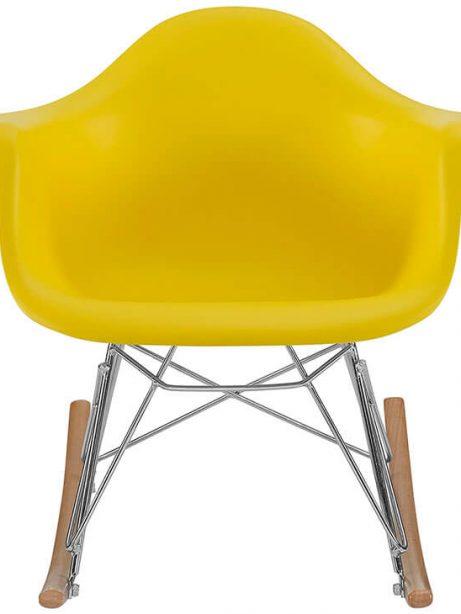 kids yellow rocking chair 461x614