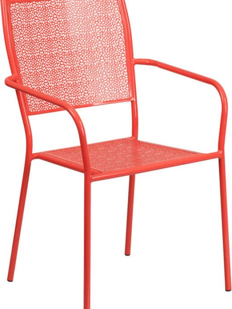 metal brocade chair red 461x614