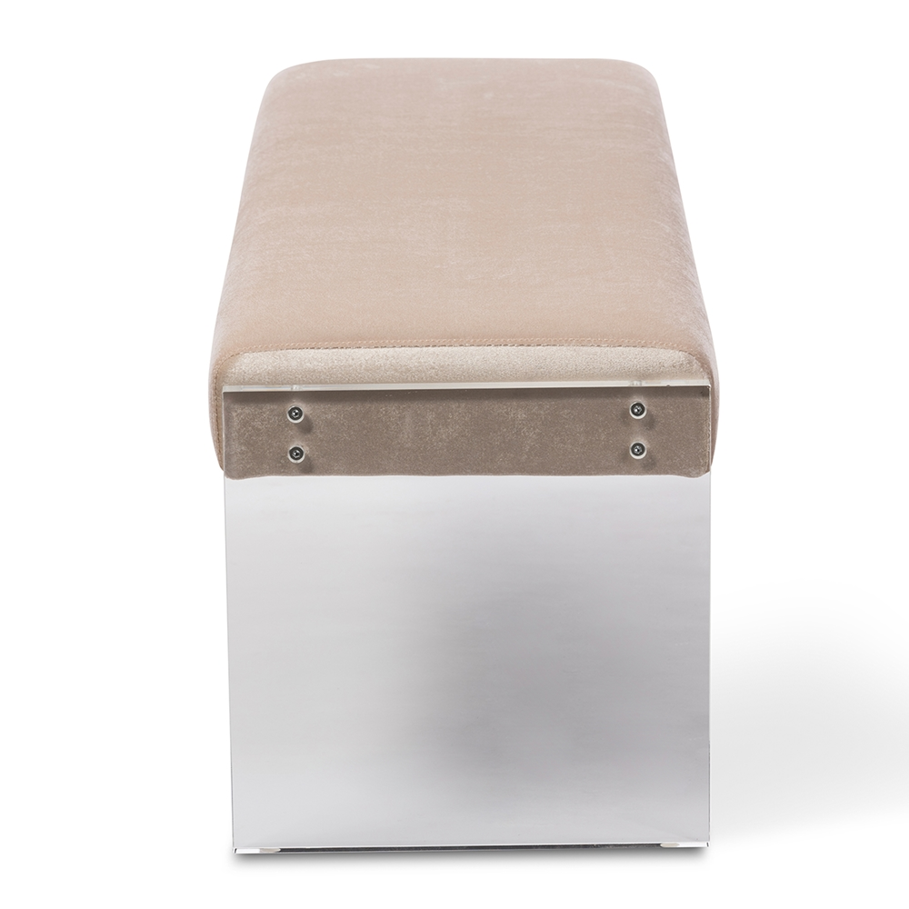 regency acrylic bench taupe 4