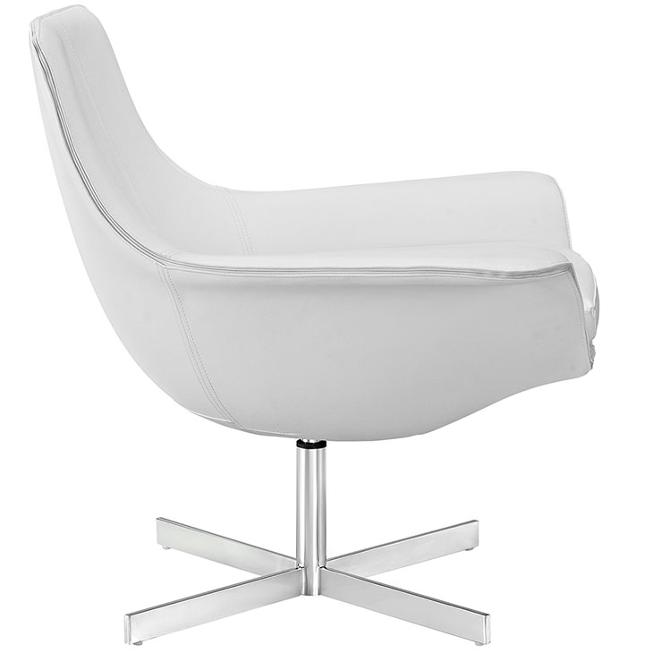 white wing armchair
